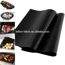 China Top Selling PTFE Teflon BBQ Non Stick Mats Fire retardant Grill Mats